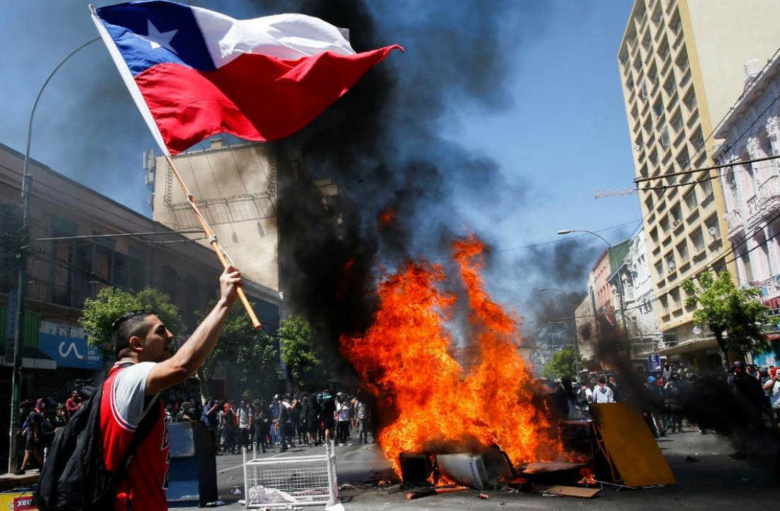 Alerta de mercado - Chile en llamas
