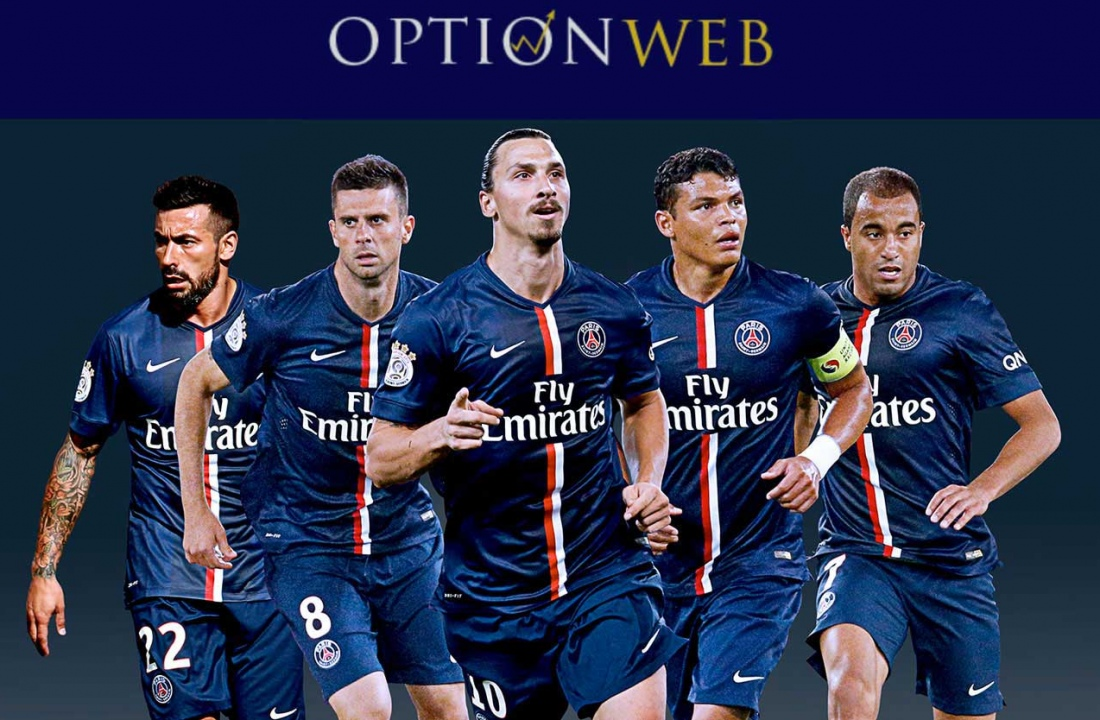 OptionWeb é o Novo Patrocinador 2016 Paris-Saint-Germain